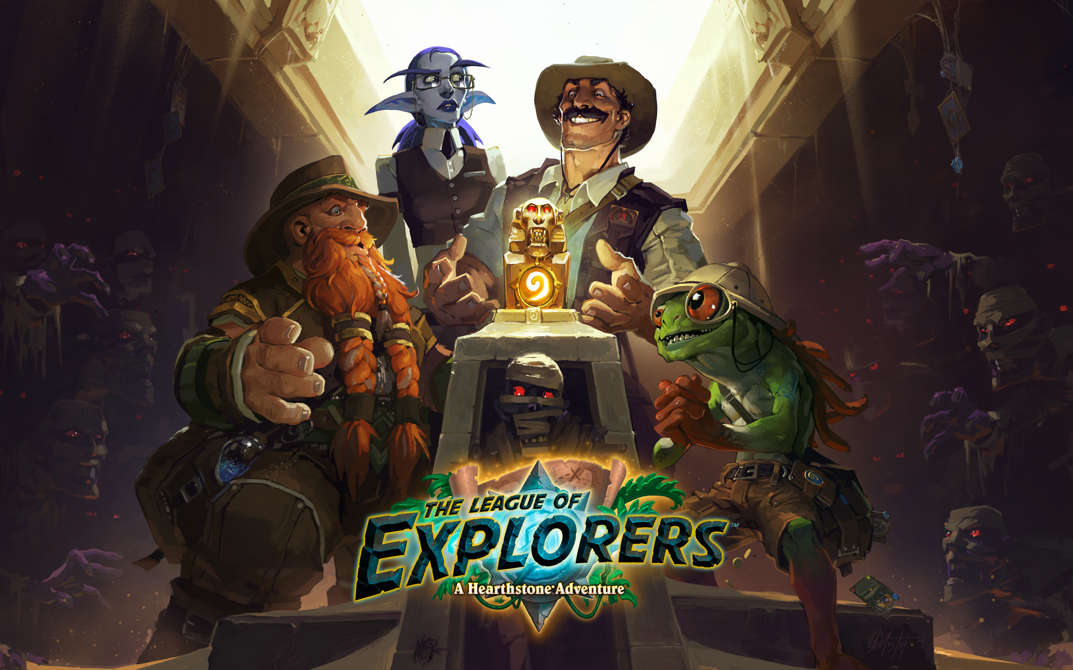 The League of Explorers is Now Live! - Hearthstone