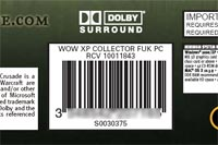 The Burning Crusade Barcode
