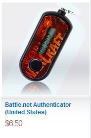 Find an Authenticator on the Blizzard Store!