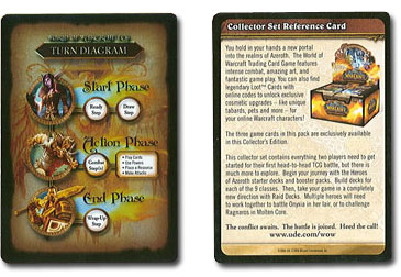 The Burning Crusade Collector Set Reference Card