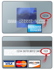 Credit Card Type Dropdown