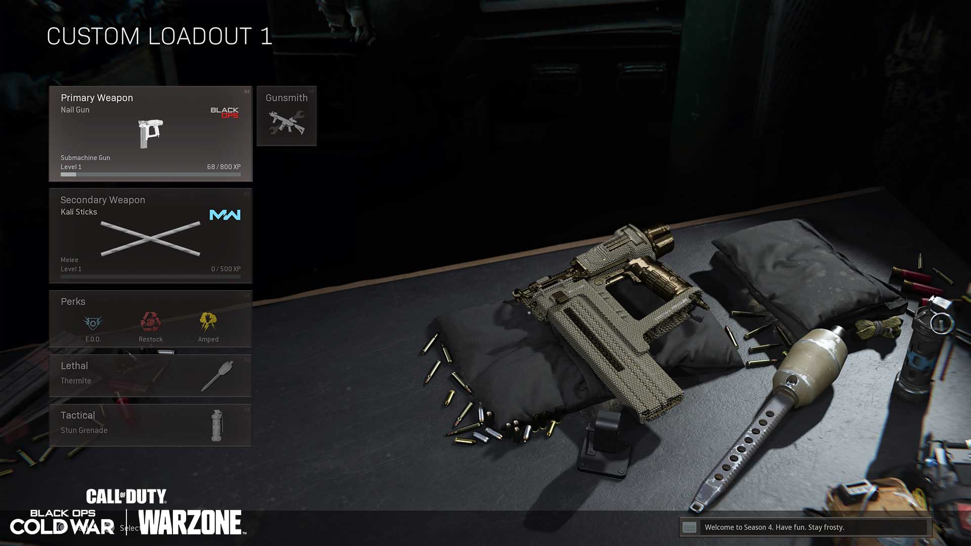 Even Warzone is a place to shine for the Naaaaaail Gun