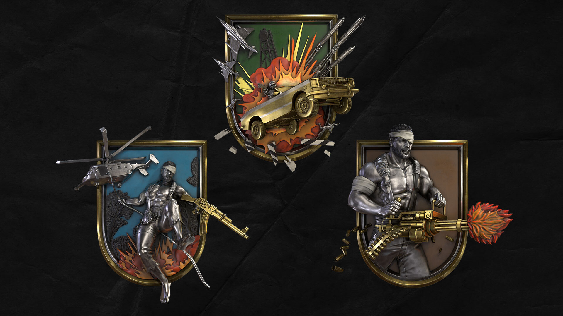Action Movie–Inspired Medals (Launch)