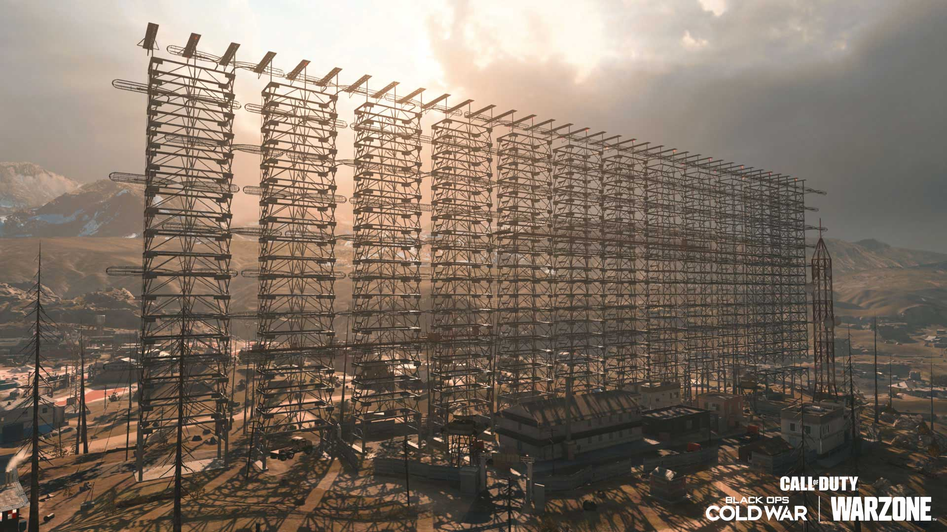 A wide view of the Grid Radar Array