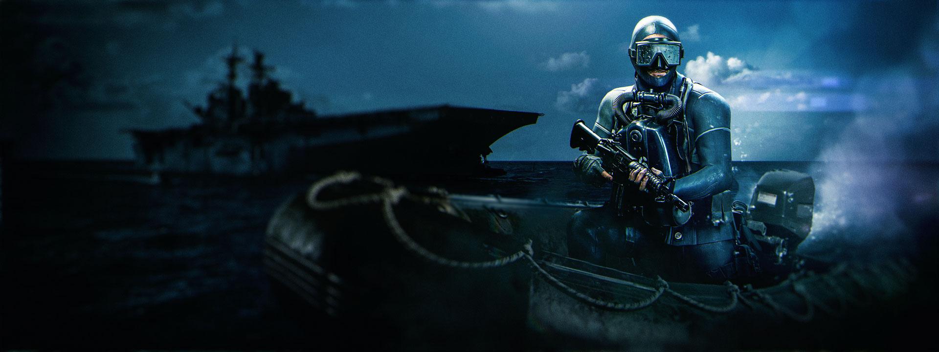 潛水員造型