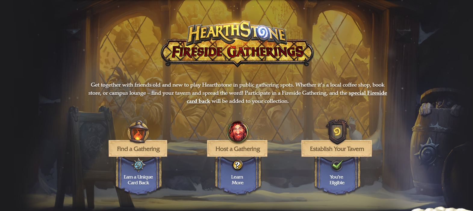 Fireside Gathering Application