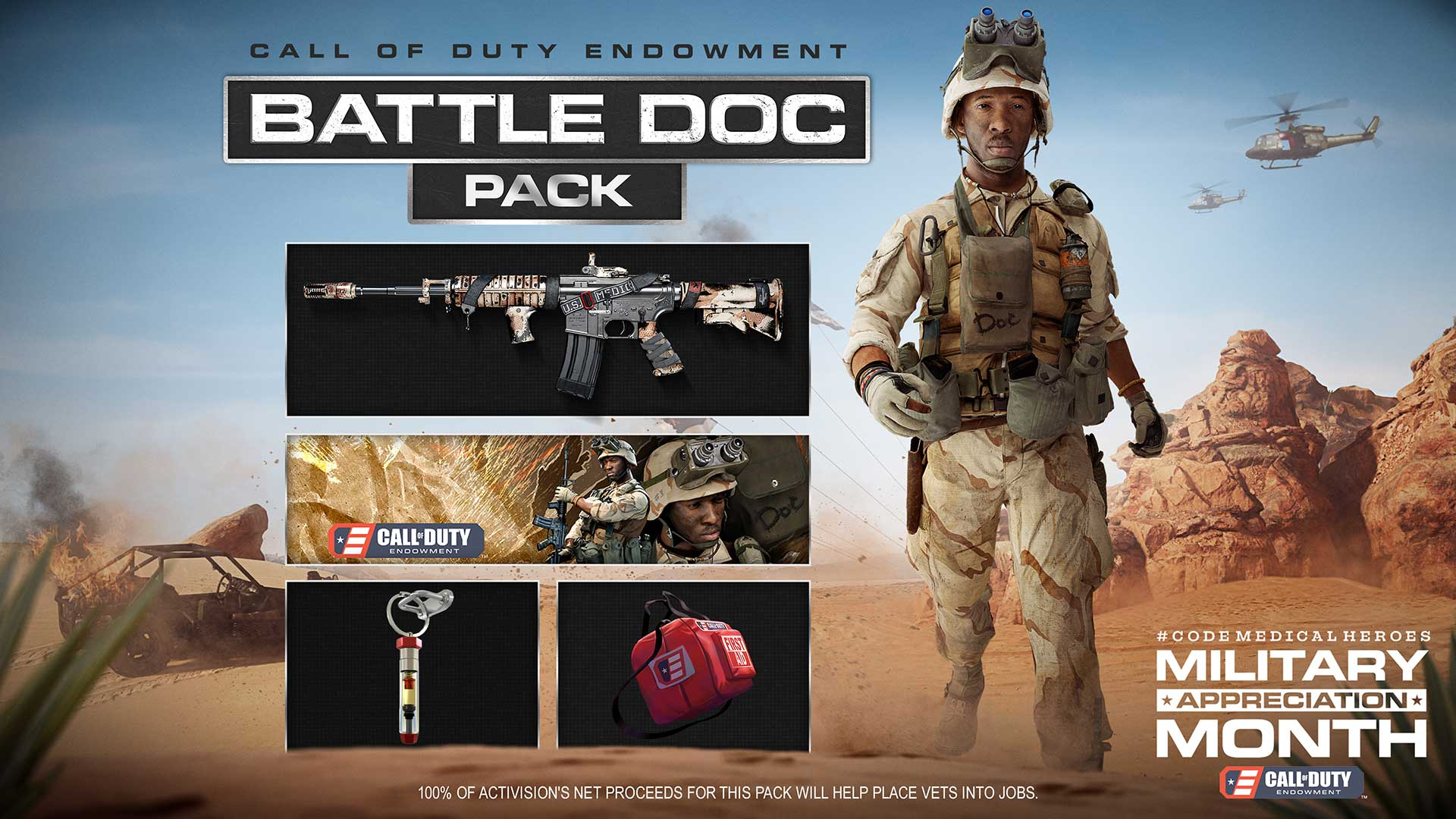 C.O.D.E. Battle Doc Pack