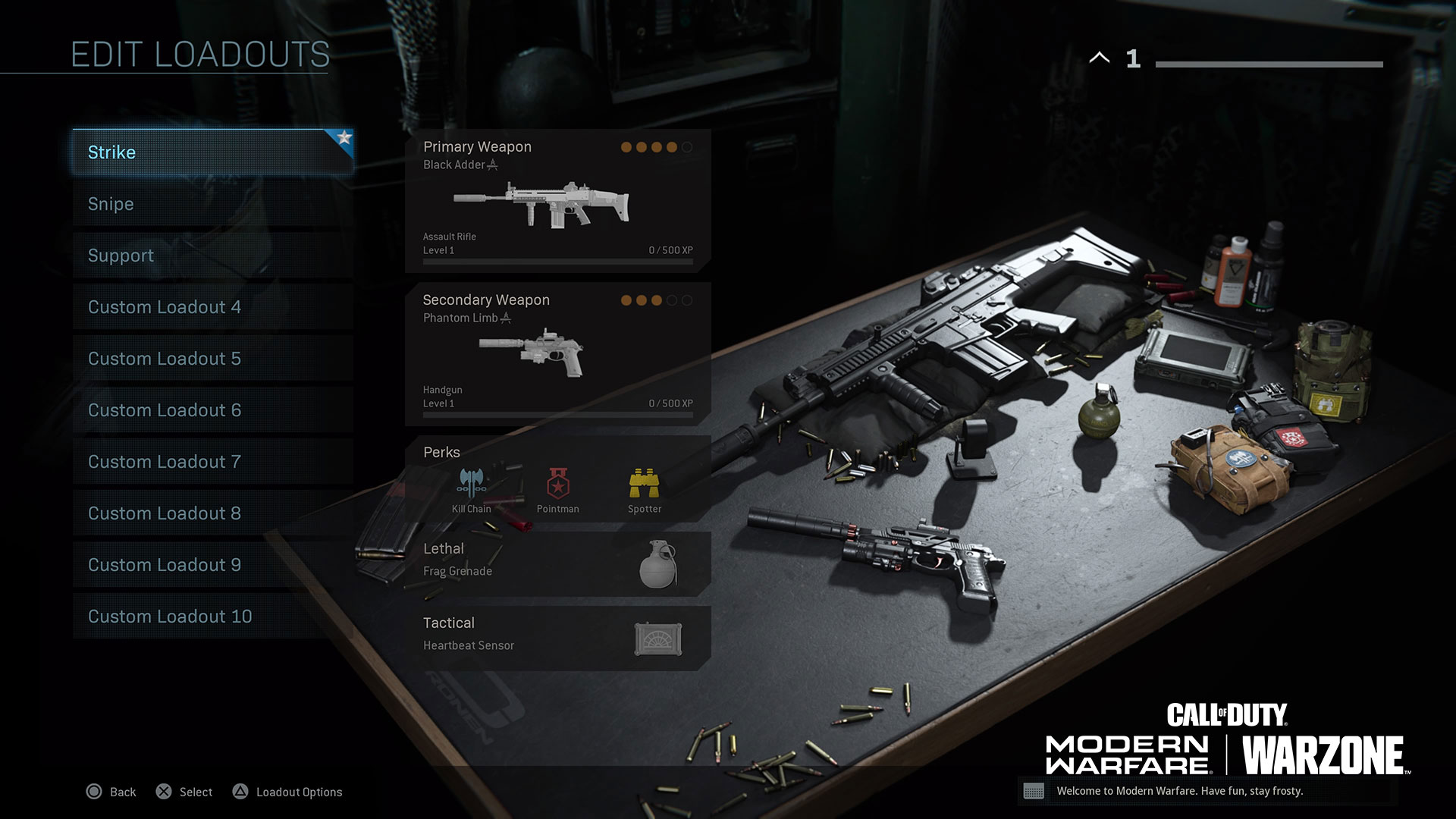 This loadout is great for players