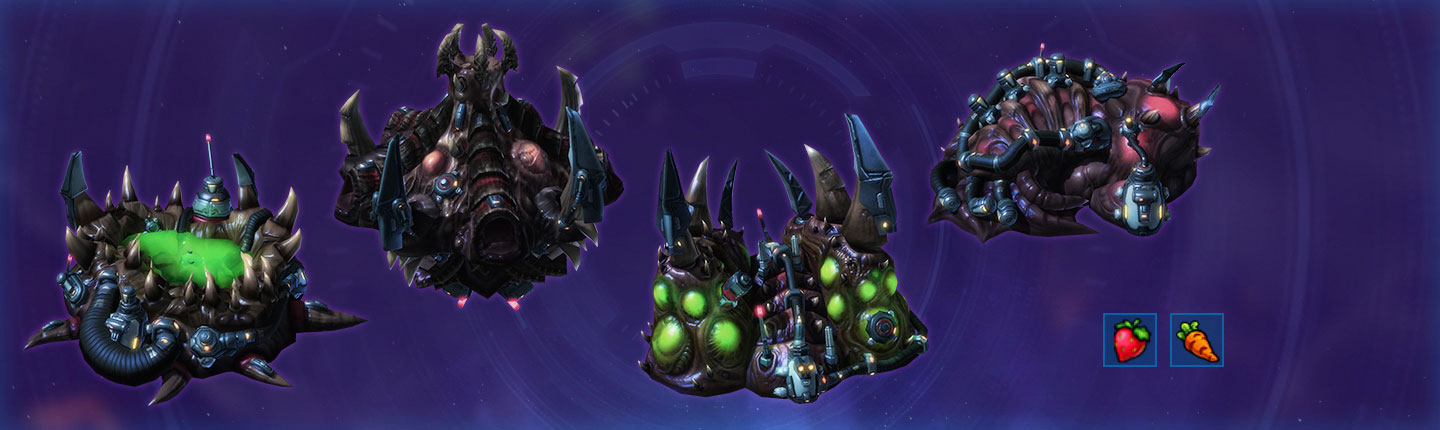Zerg Phase One: Hatchery, Spawning Pool, etc.