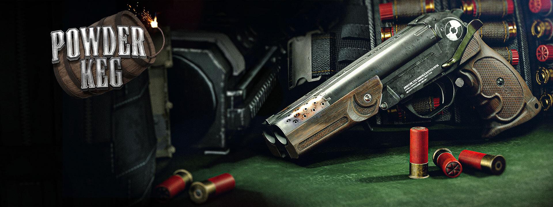 在史崔克抵達《黑色行動冷戰》和《現代戰域》之前,我們會搶先推出「桶裝炸藥粉」組合包,內含全新手槍的第一個武器藍圖。