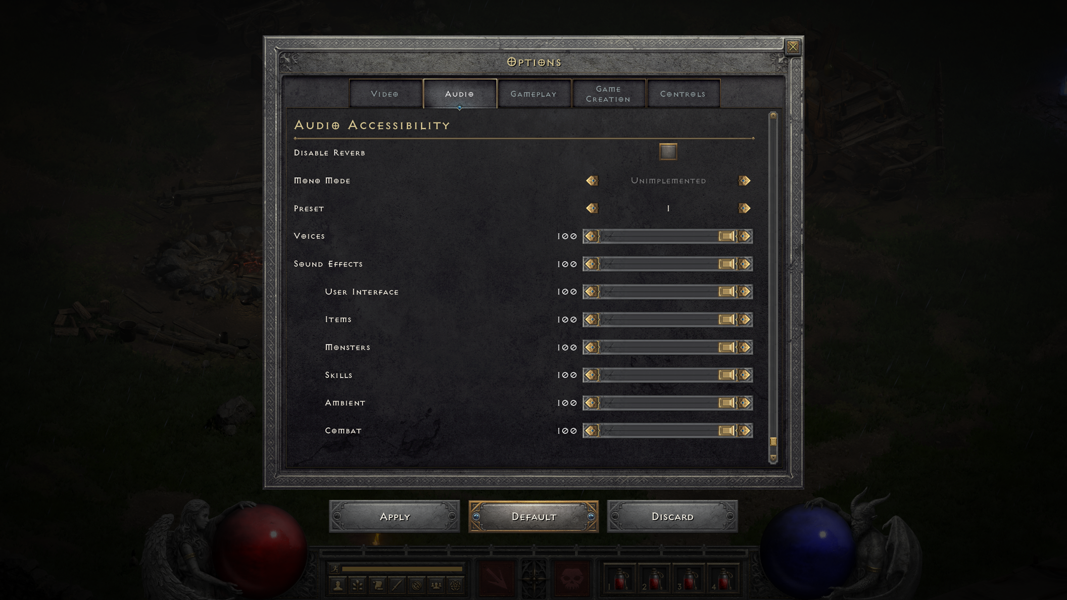 Blizzard on Diablo 2 Resurrected Accessibility