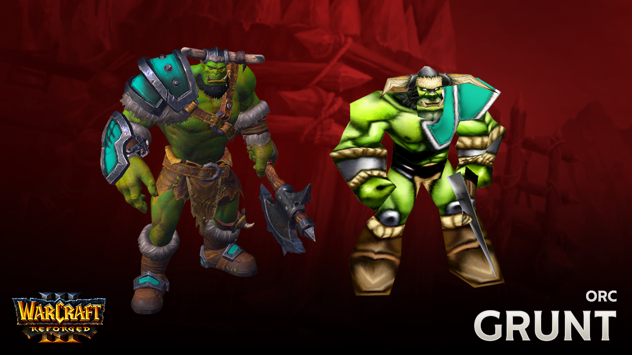 Tales From The Smithy Reforging The Orcs Warcraft Iii Reforged
