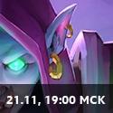 19:00 МСК 21 ноября