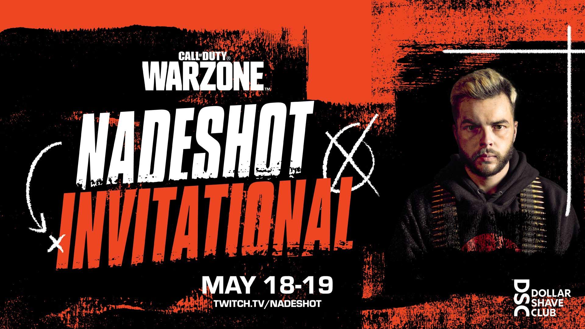 Warzone: Nadeshot Invitational Kicks off Today, May 18