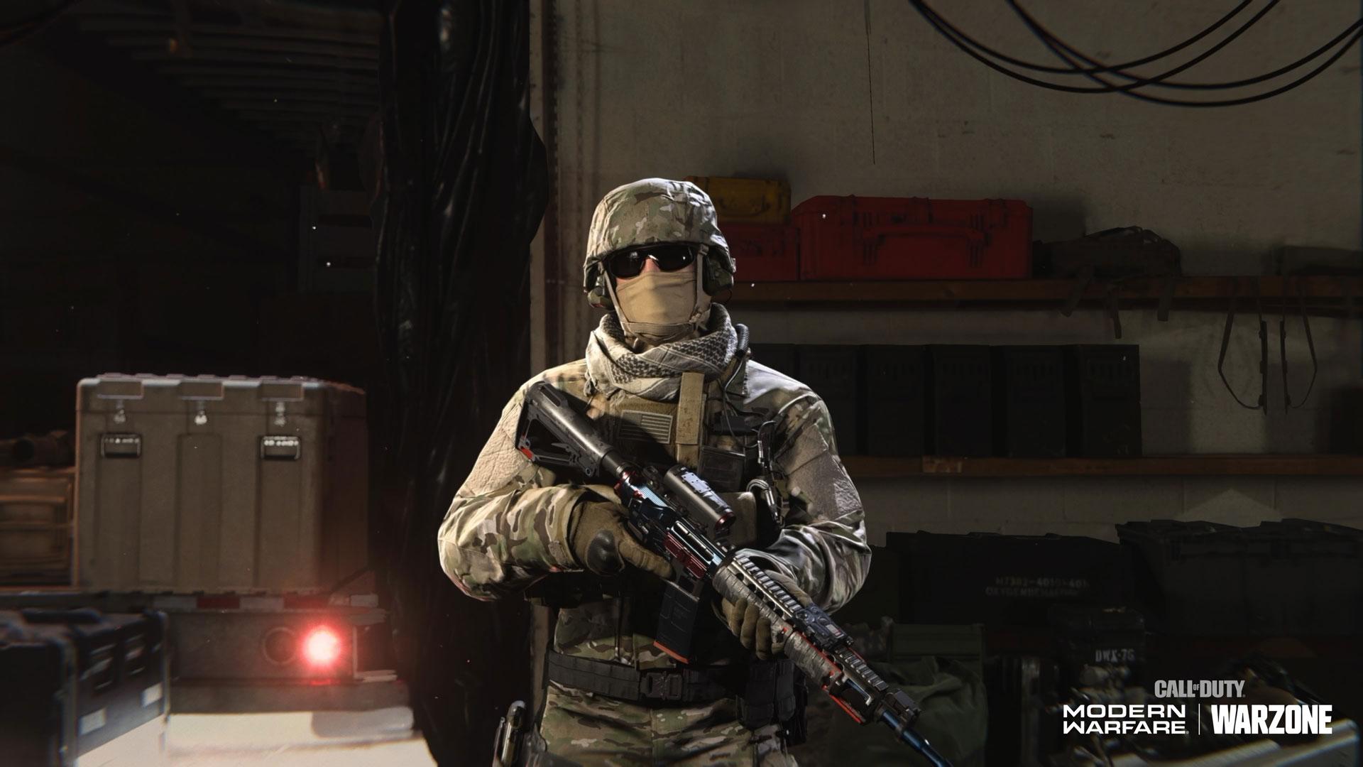 Venerated Mil-Sim Operator Skin