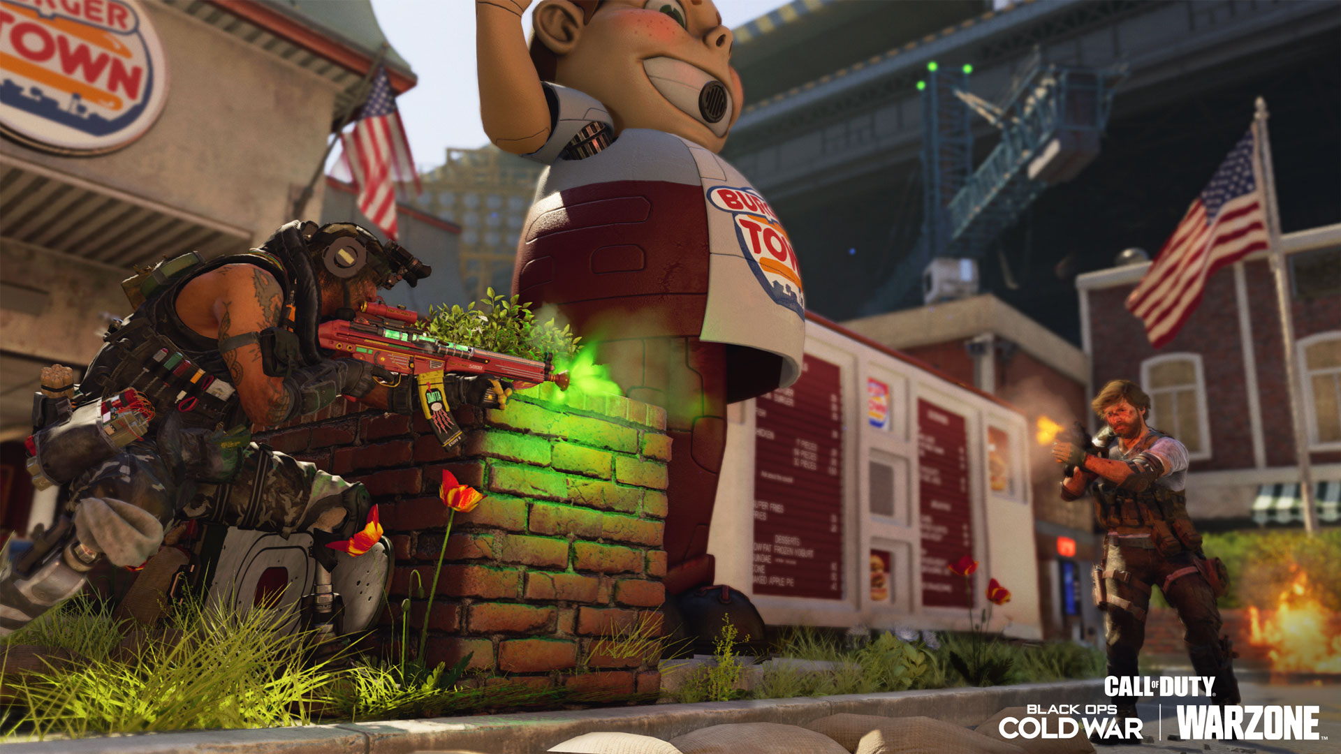 Defend Burger Town!
