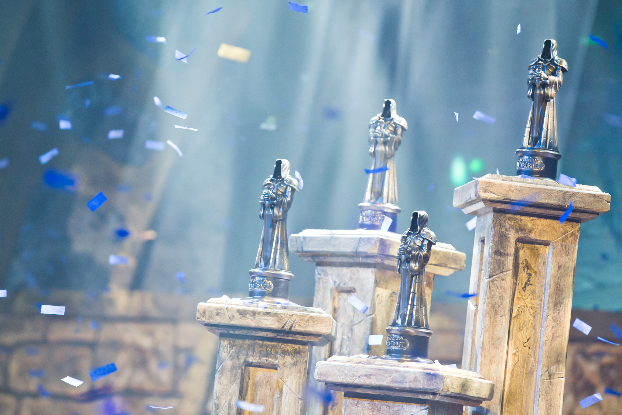 The Trophies at BlizzCon 2017