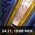 15:00 МСК 24 ноября