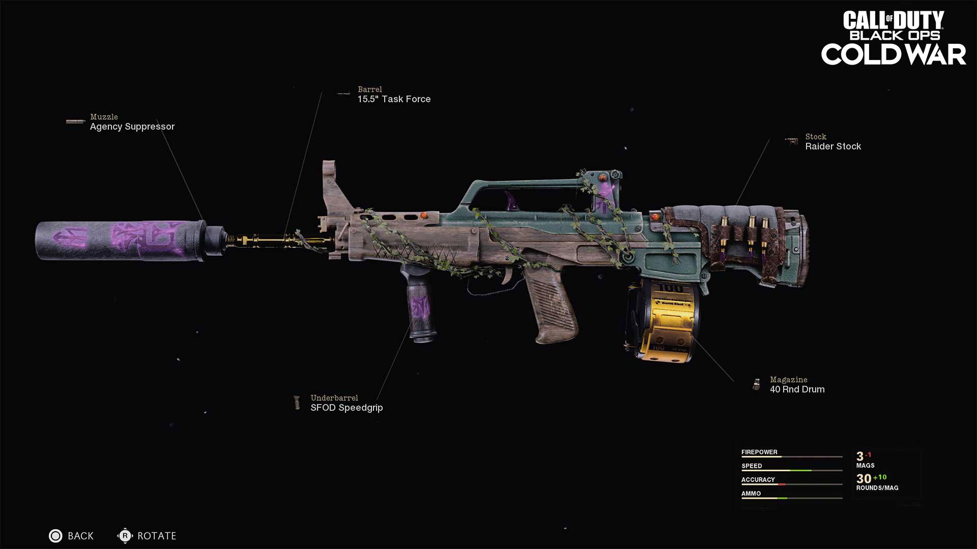 Natural Wonder Legendary assault rifle Blueprint