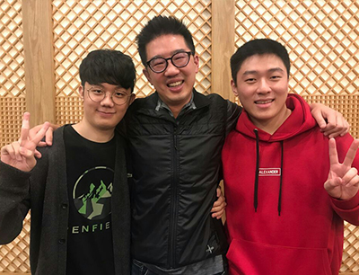 Kevin Chou, Miro and Ryujehong