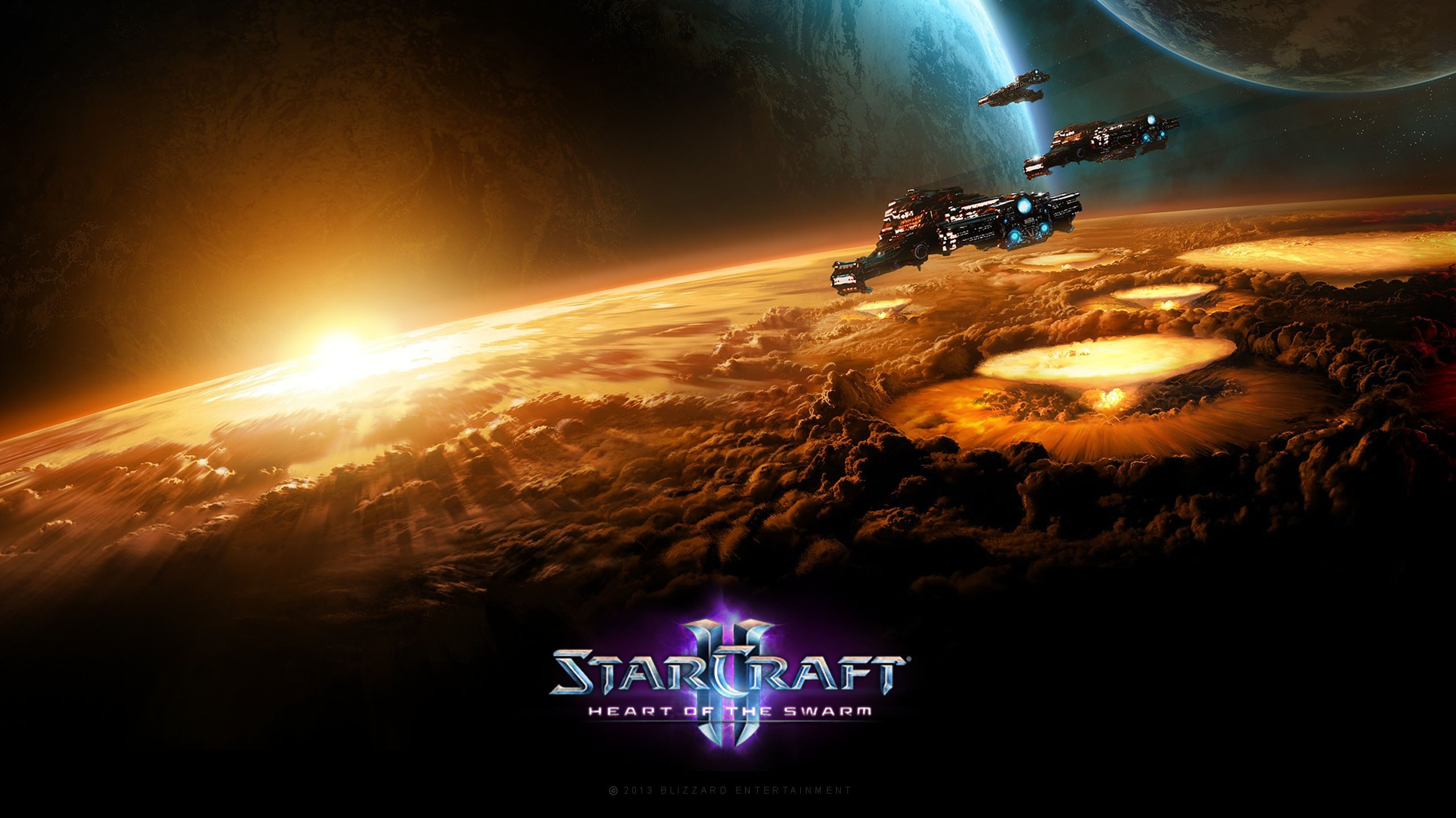 Wallpaper Starcraft medic marine art desktop wallpaper » Games