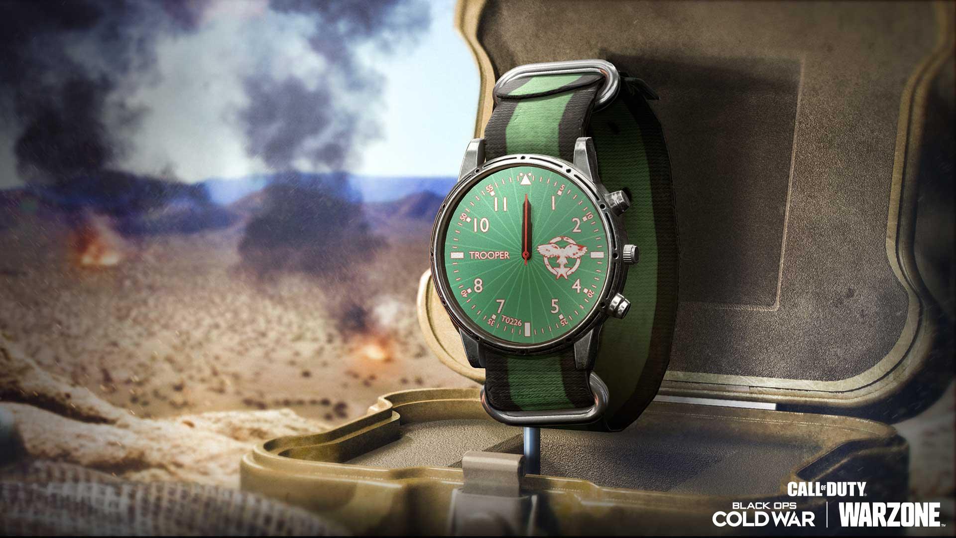 翡翠傘兵手錶
