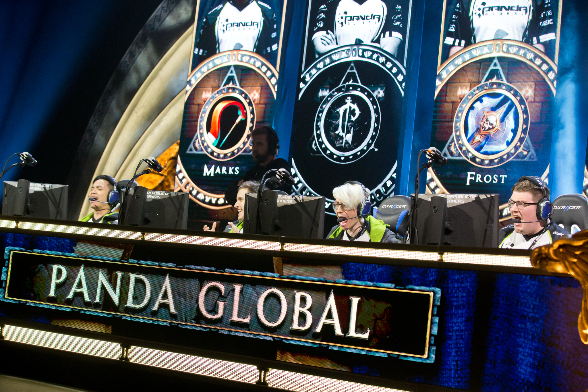 Panda Global at BlizzCon 2017