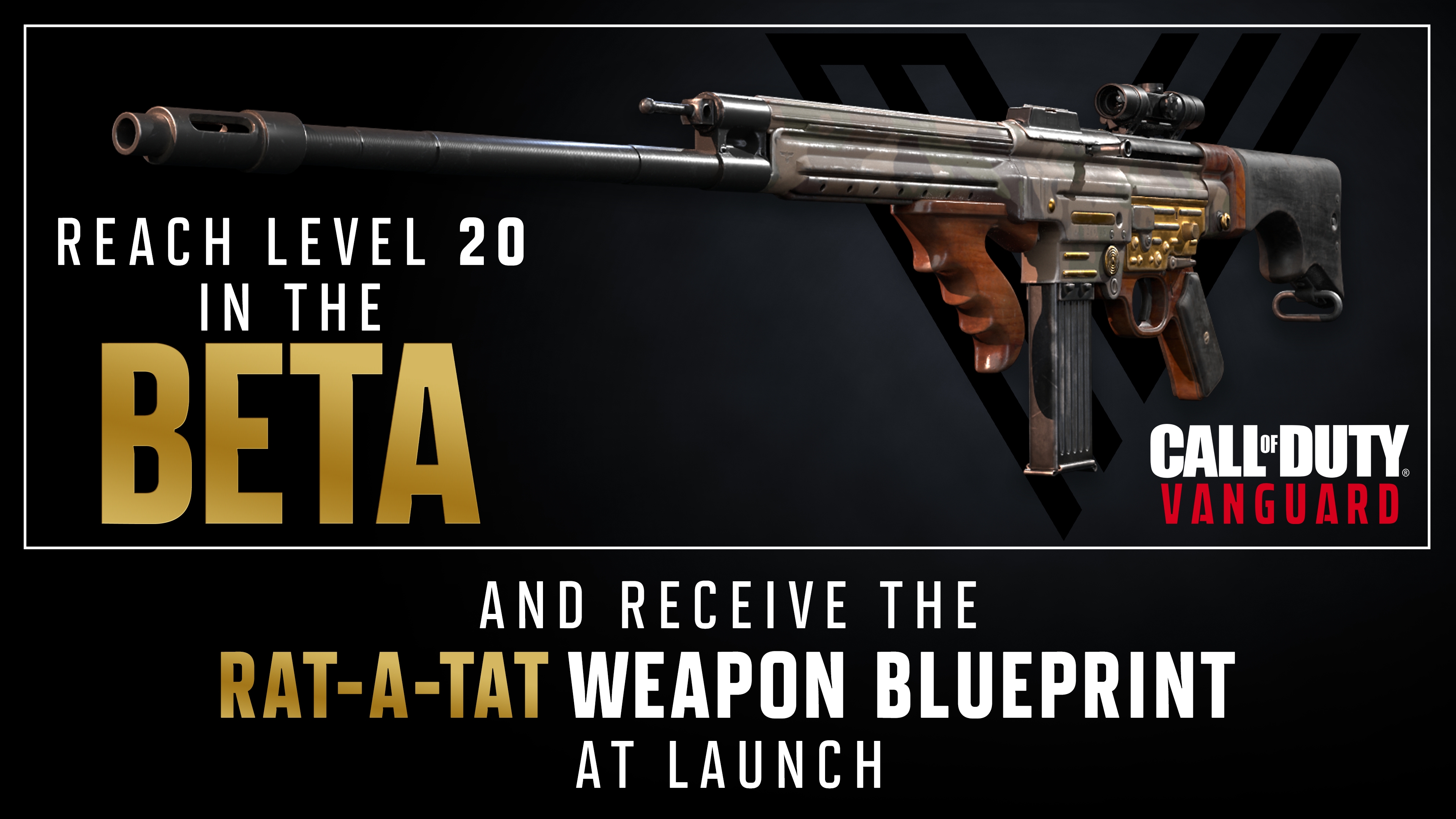 Beta Participation Awards – Cross-Progression, Weapon Blueprint, and More
