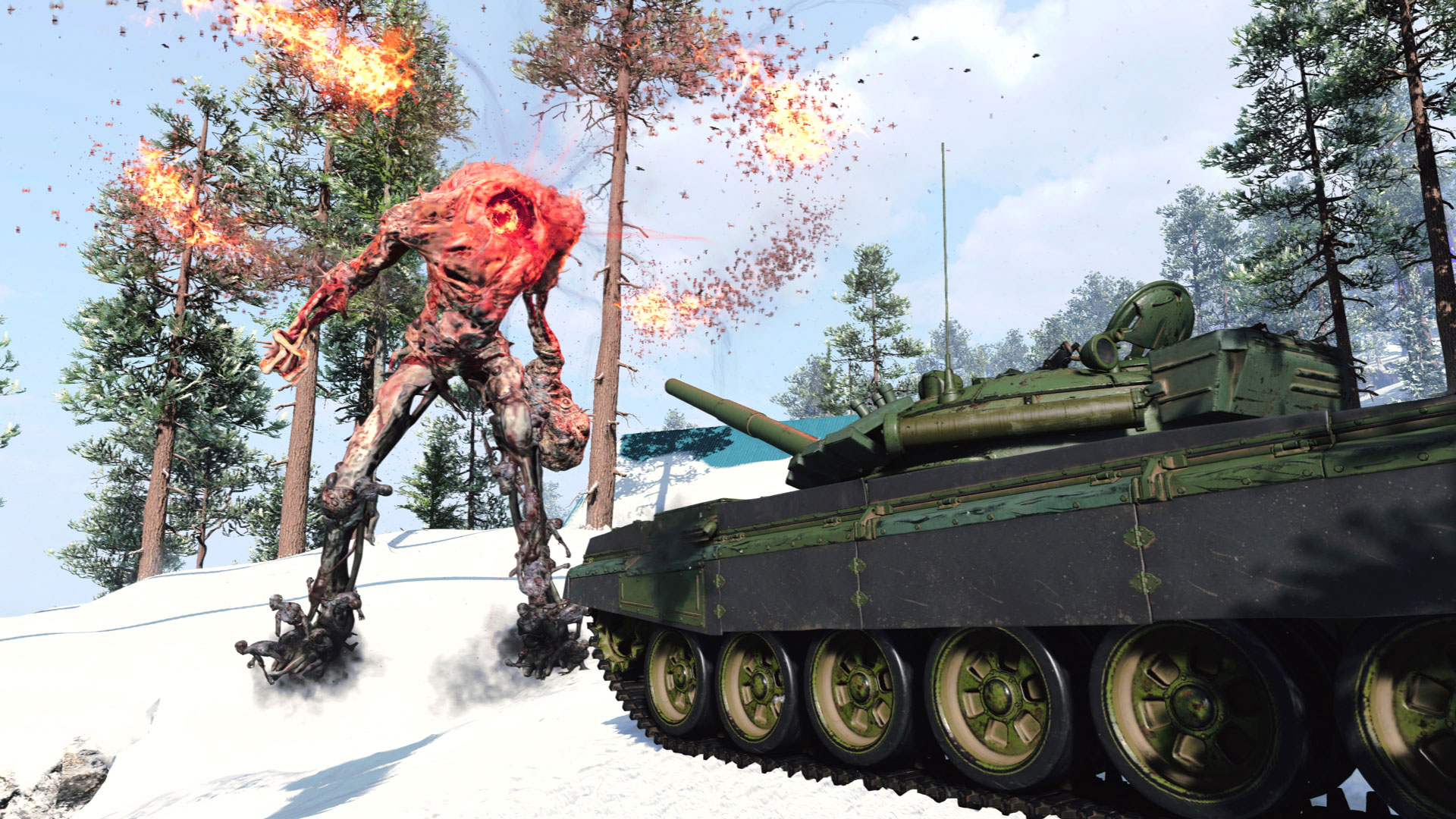 New Outbreak Vehicle – Tank (Launch)