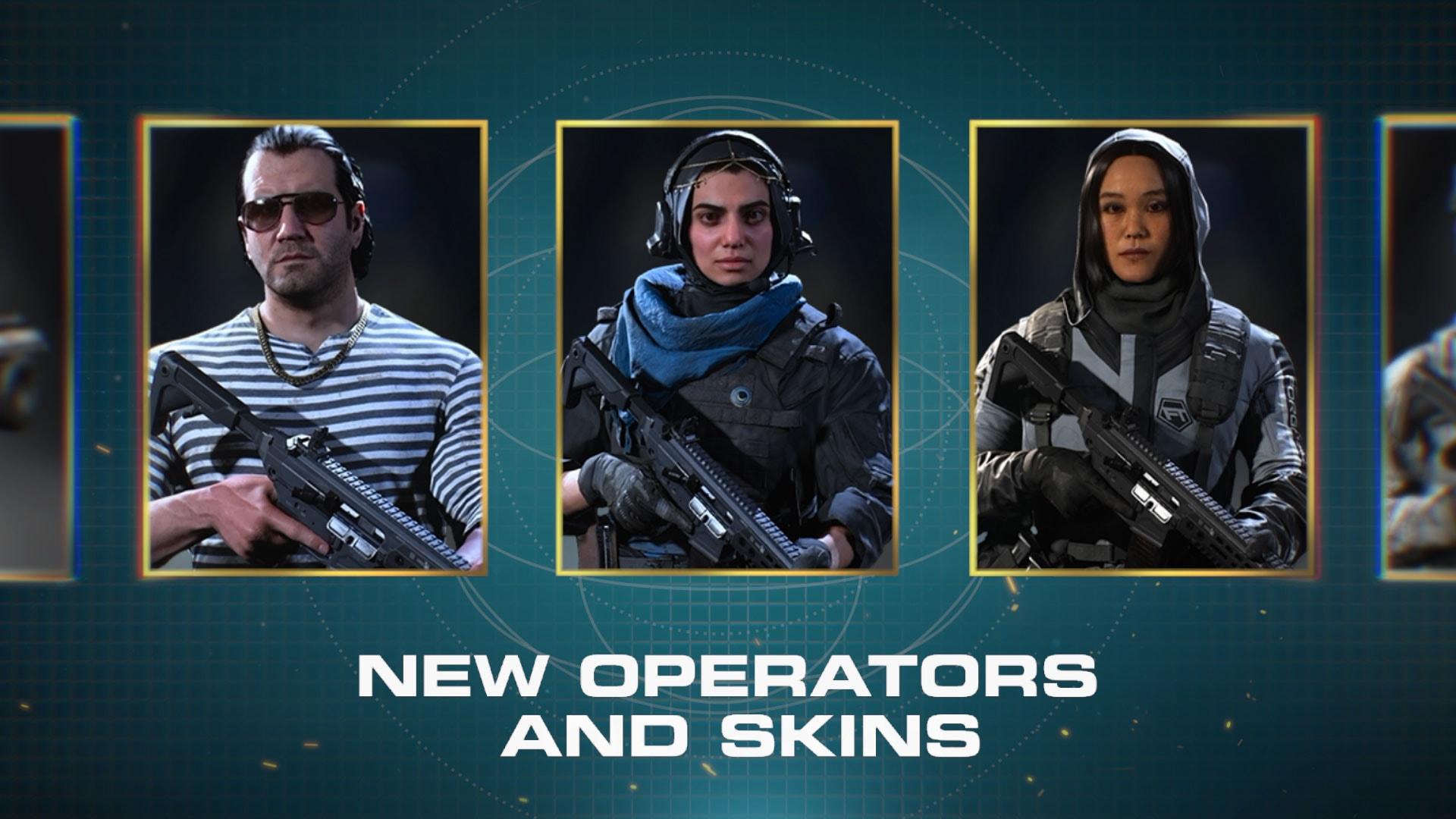 New Operator Skins