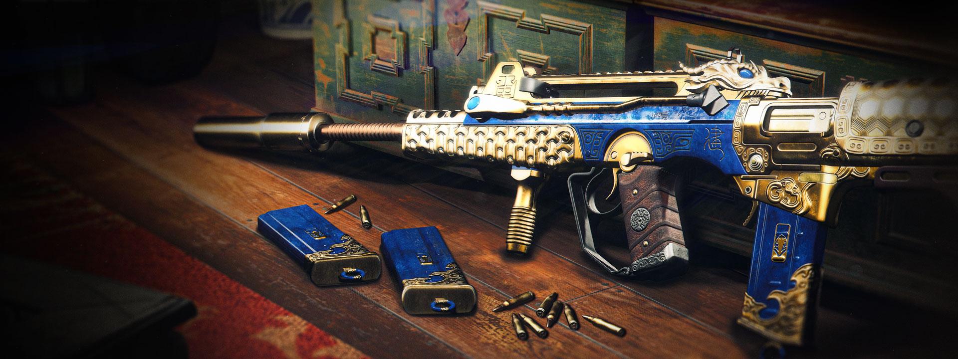 「大帝」突擊步槍藍圖(5級):