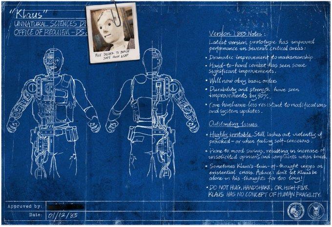 Klaus blueprint