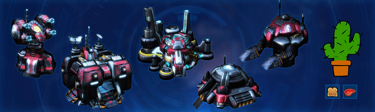 Terran Phase Two Rewards: Missile Tower, Engineering Bay, Bunker