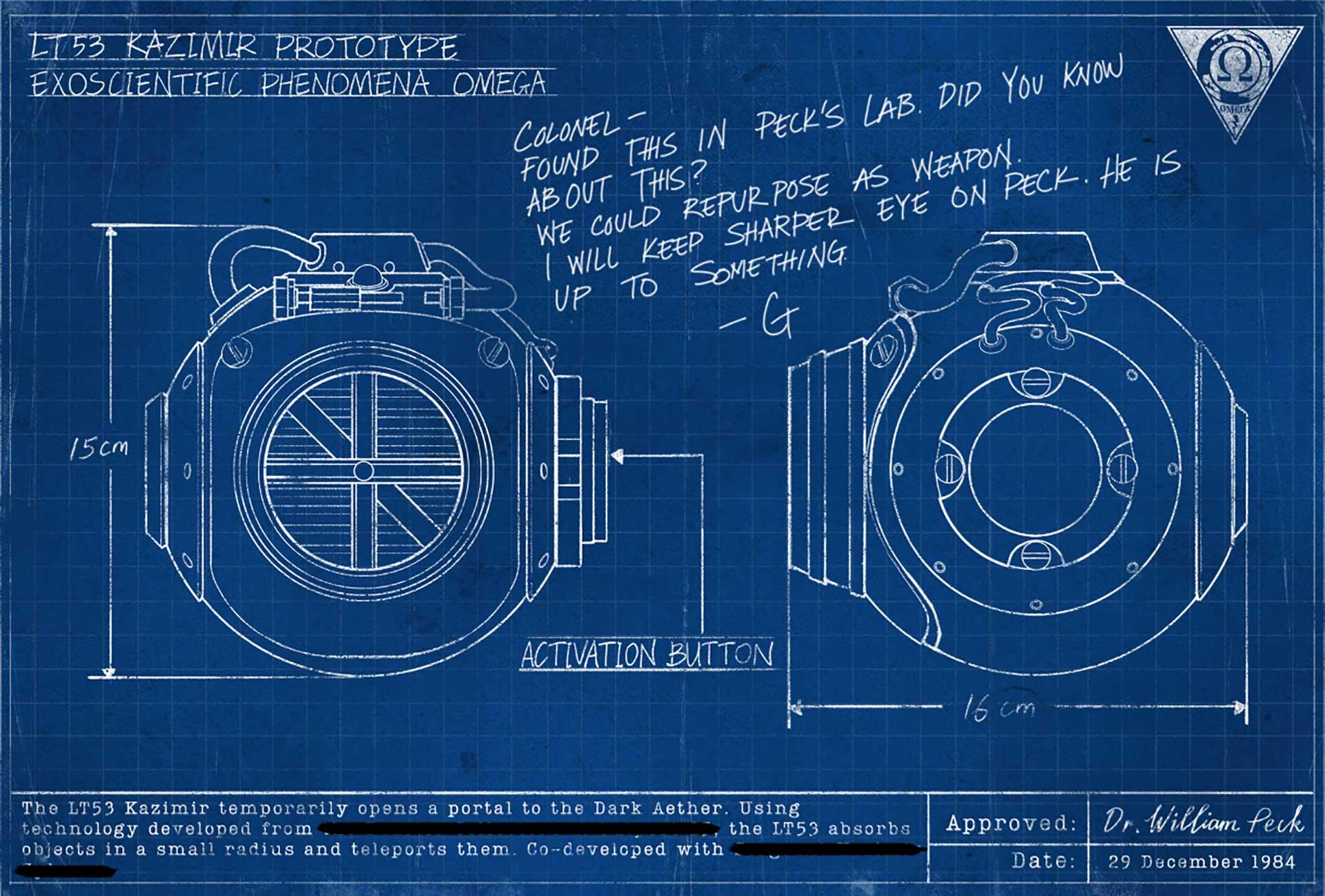 Grenade blueprint