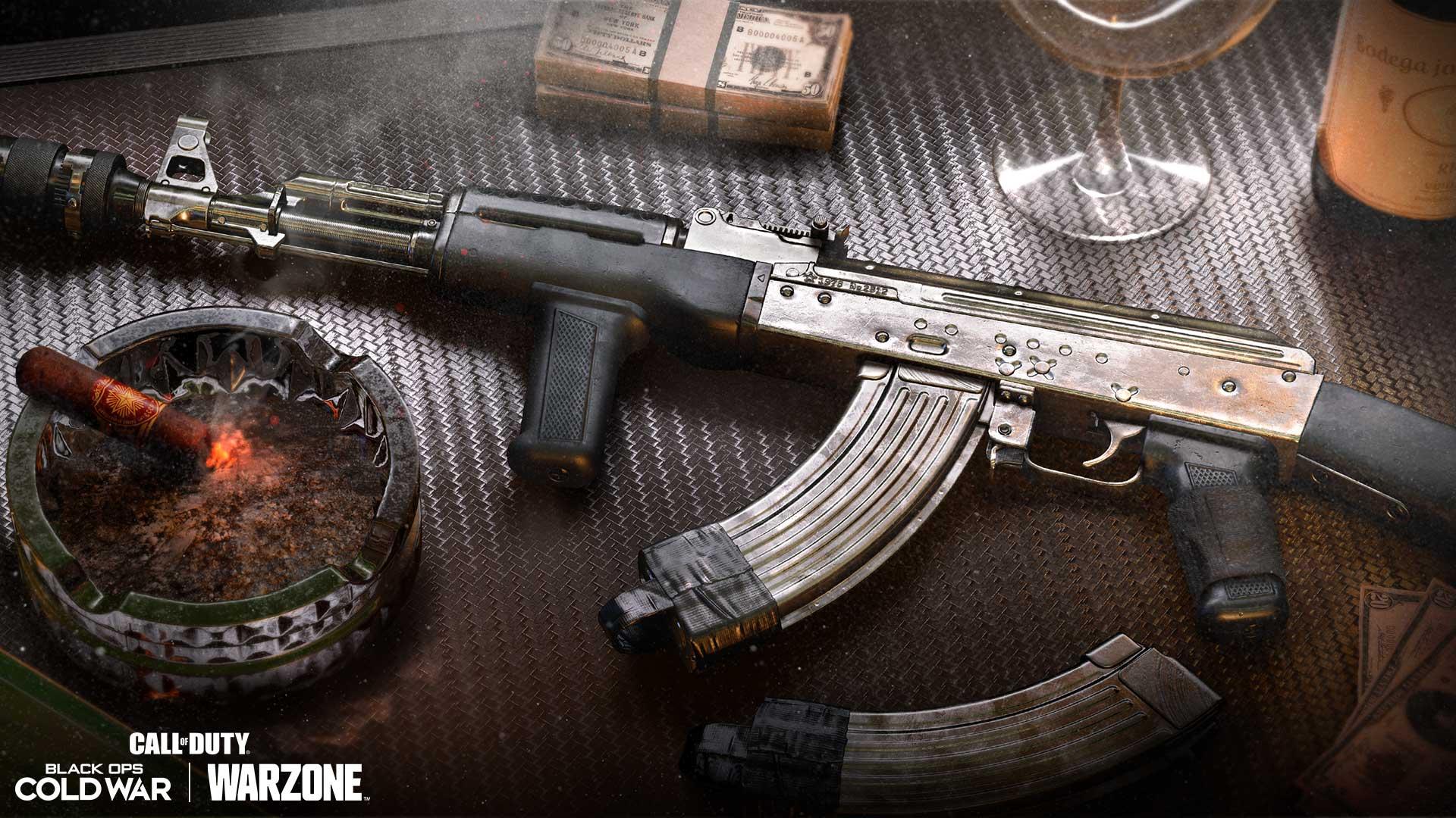 「單色系」突擊步槍藍圖(5級):