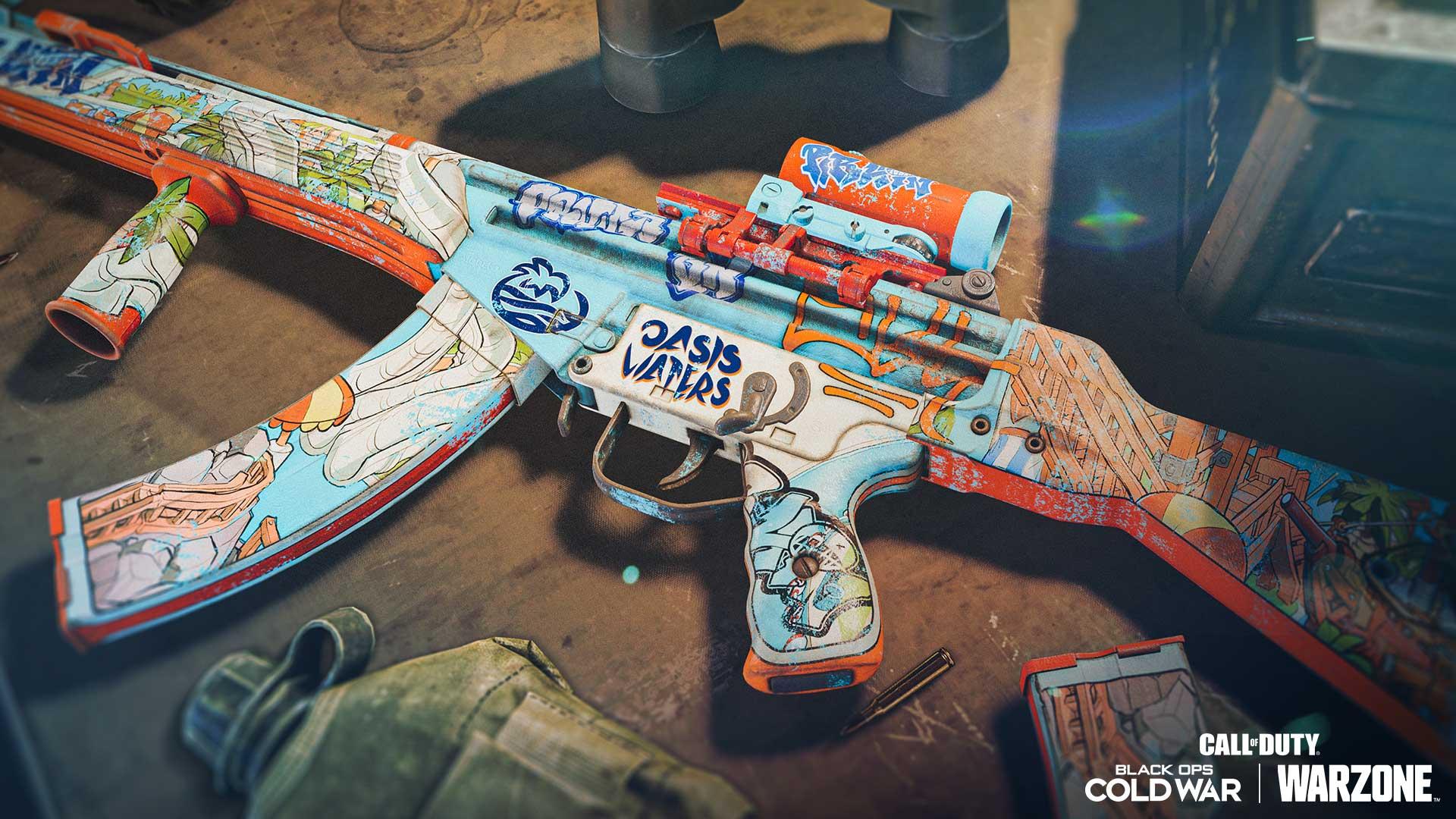「遺忘綠洲」傳奇突擊步槍藍圖:
