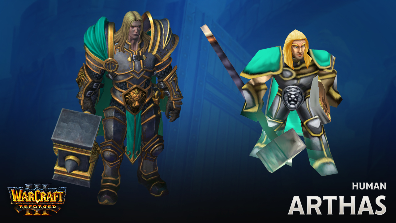 Recreating The Humans In Warcraft Iii Reforged News Icy Veins