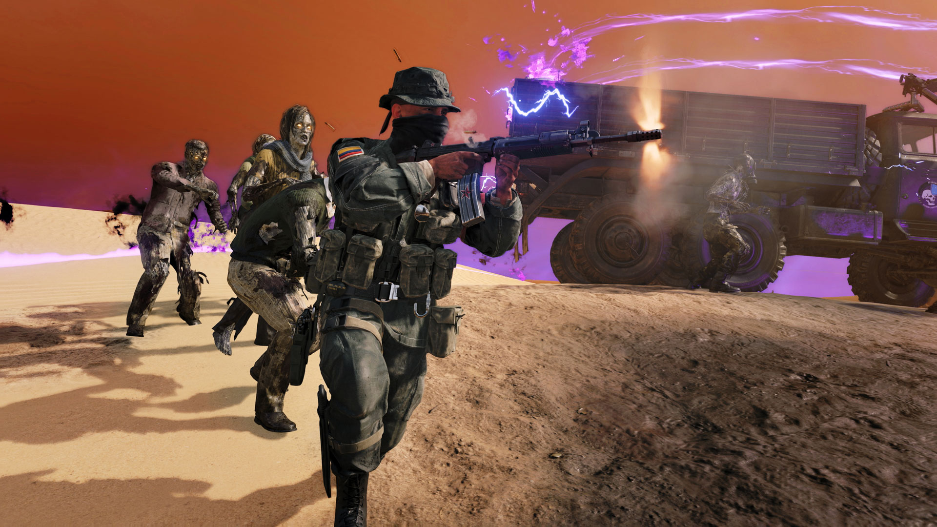 New Outbreak Objective – Transport (Launch)