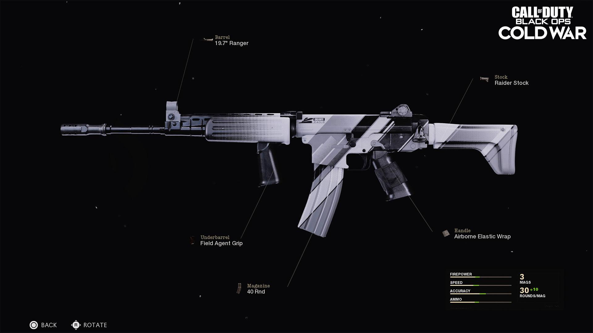 Pro issue assault rifle