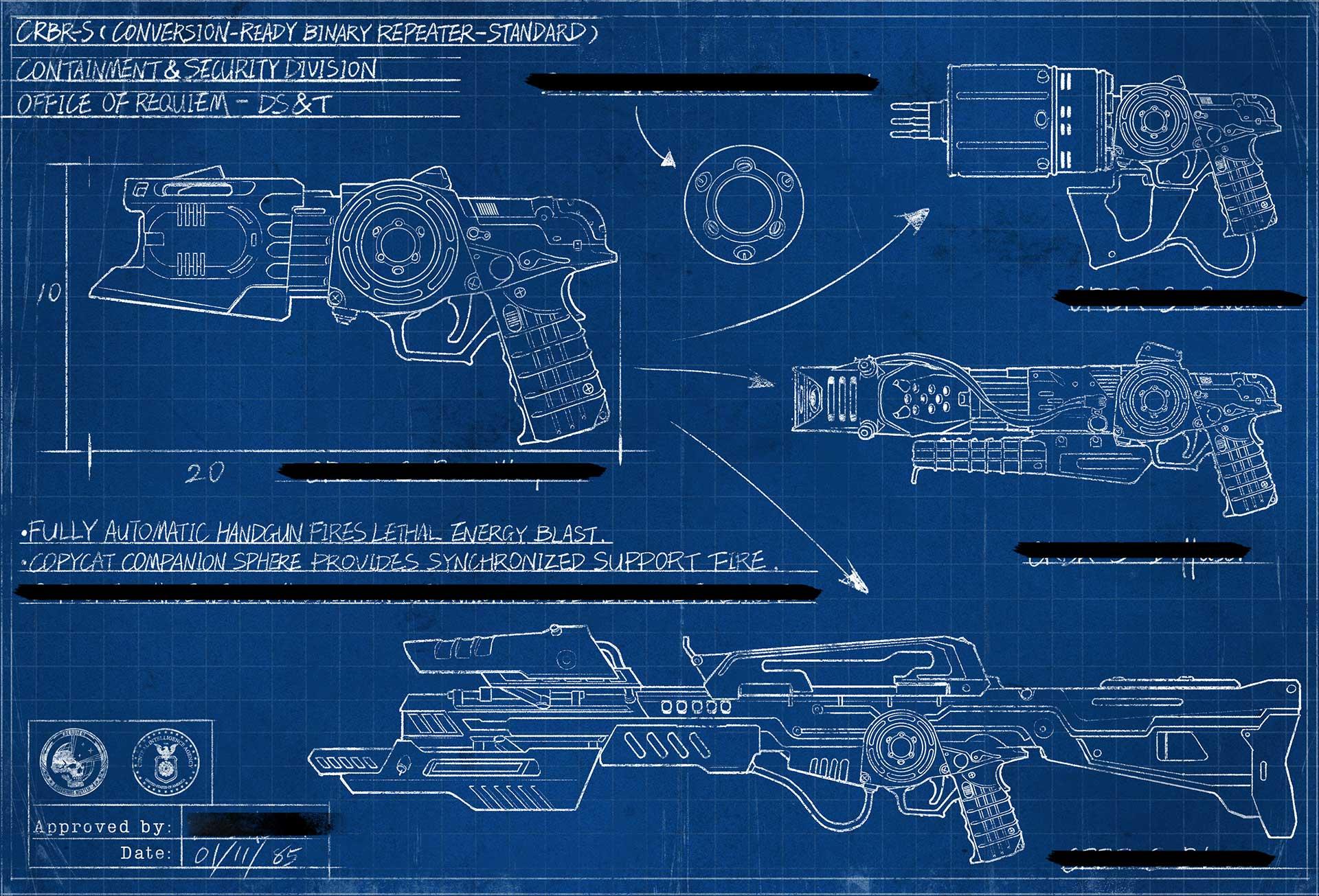 Wonder weapon blueprint