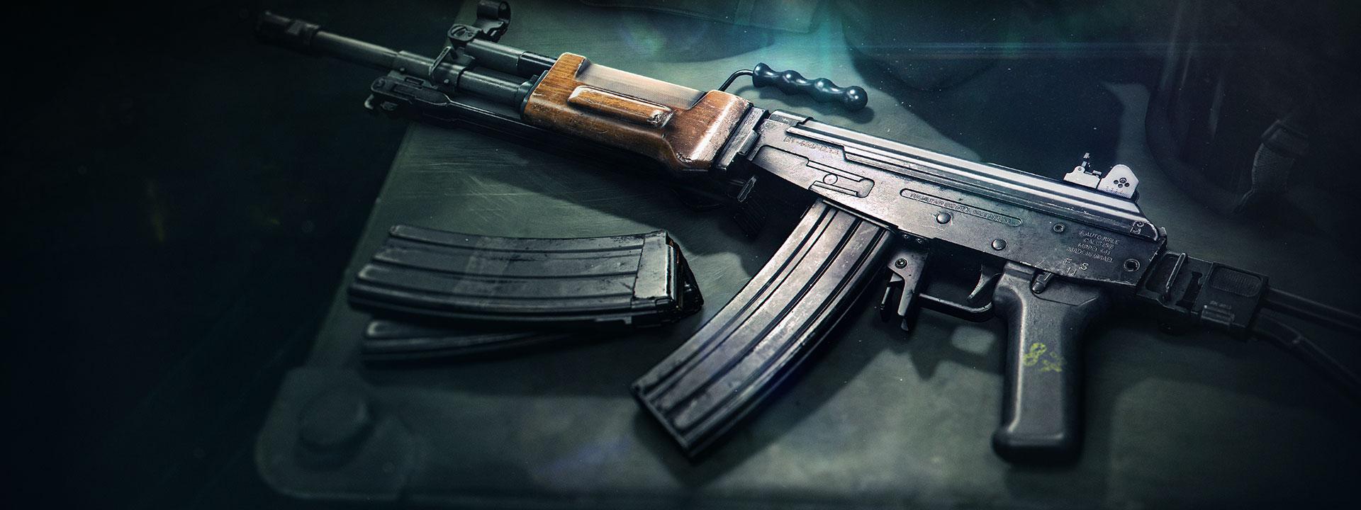 The Grav Assault Rifle