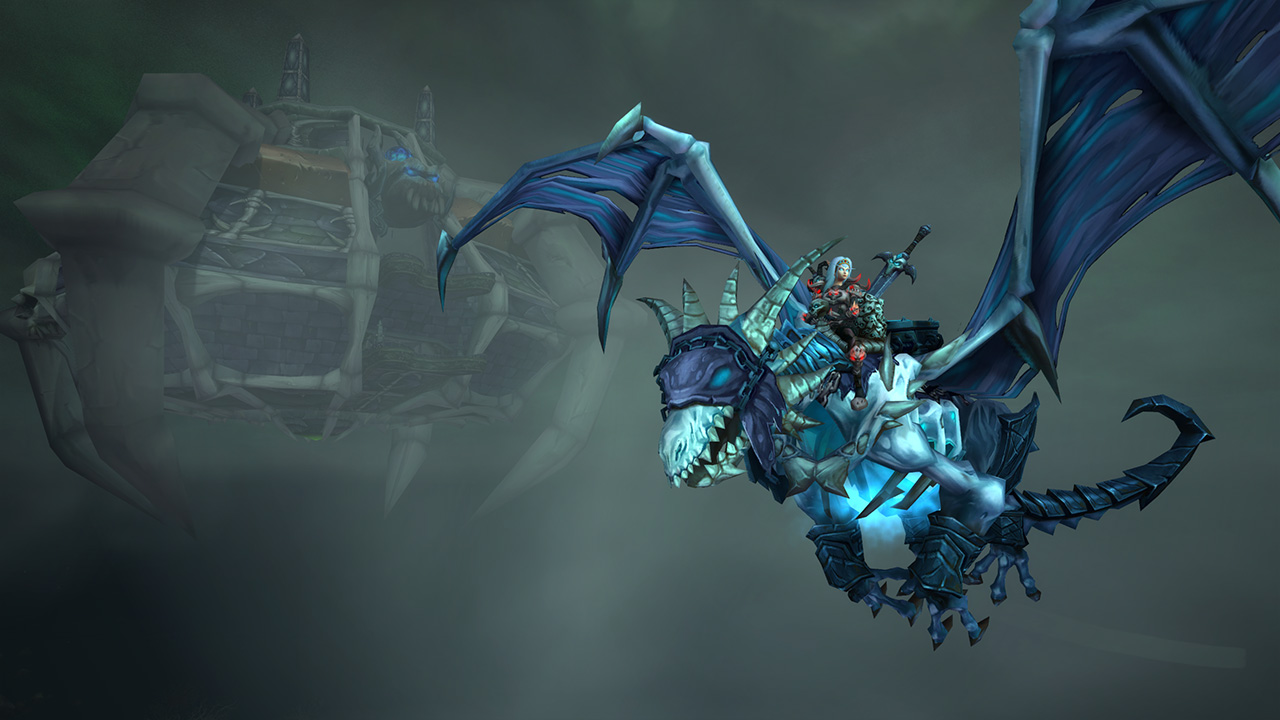 Death knight Mount