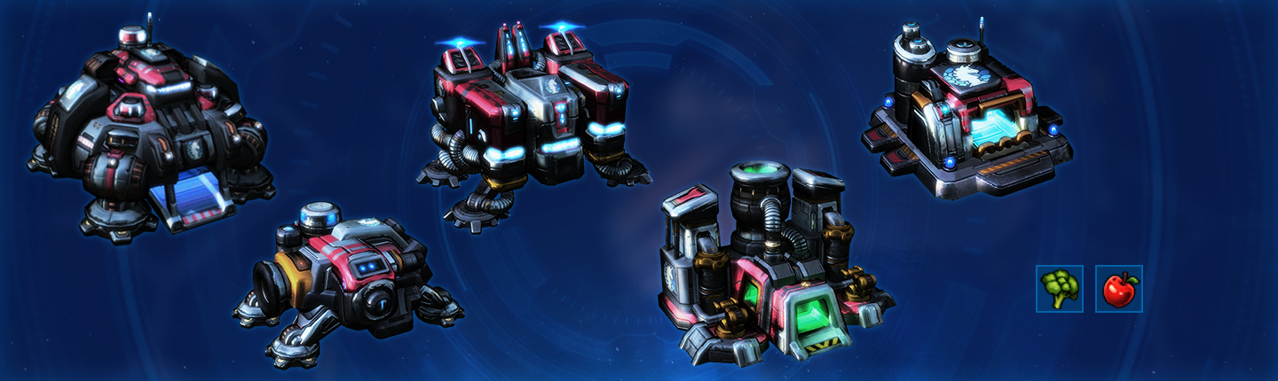 Phase One Terran Rewards: Command Center, Barracks, Supply Depot