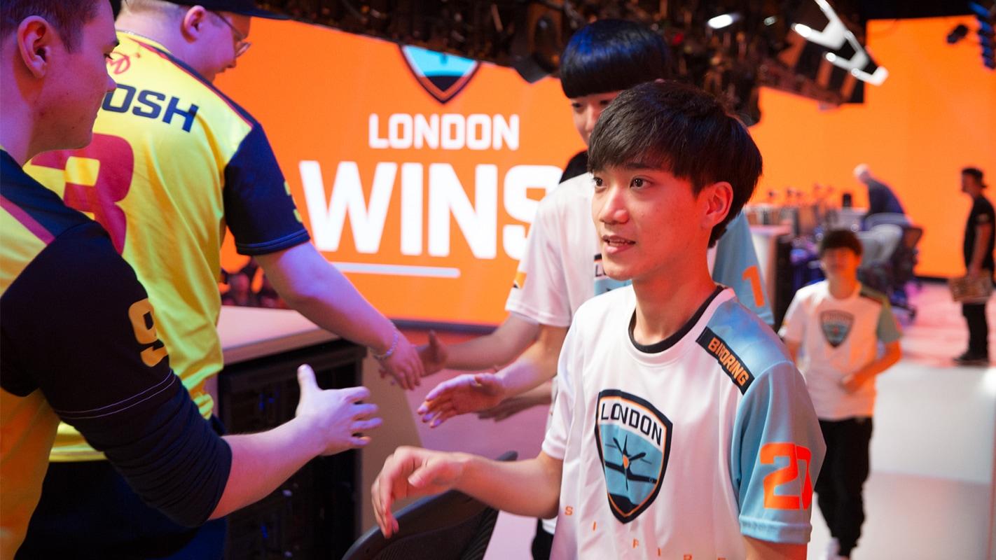 London Spitfire win