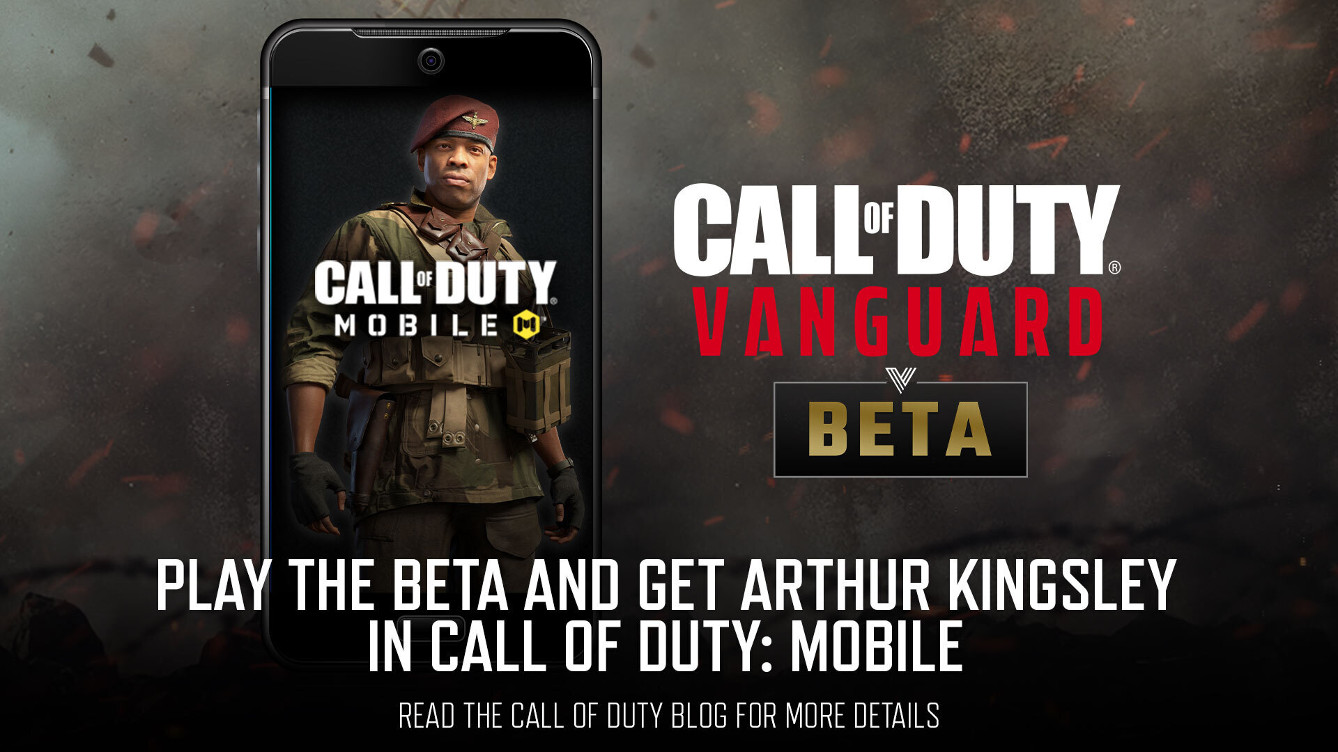 Play the vanguard beta