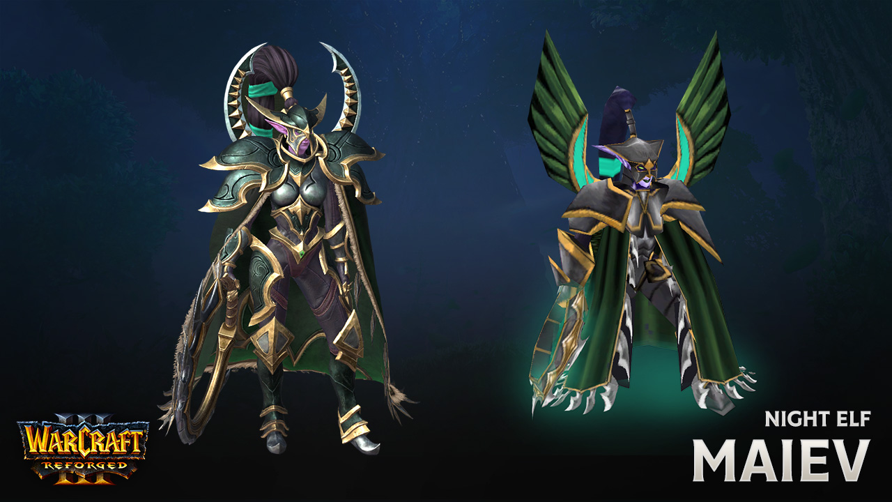 Recreating The Night Elves In Warcraft Iii Reforged News Icy Veins