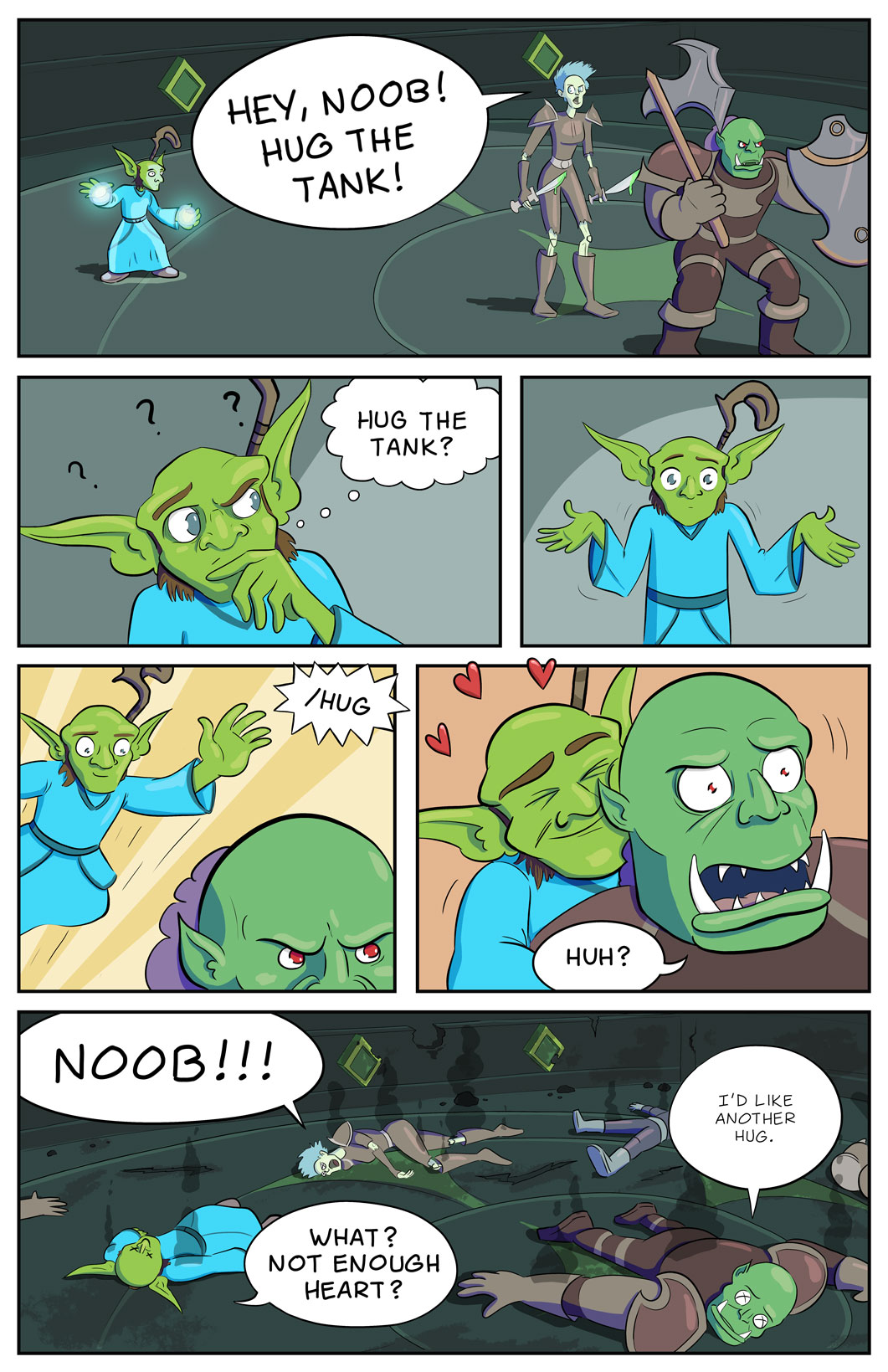 Death by Frog: Your WoW Stories told in Comics