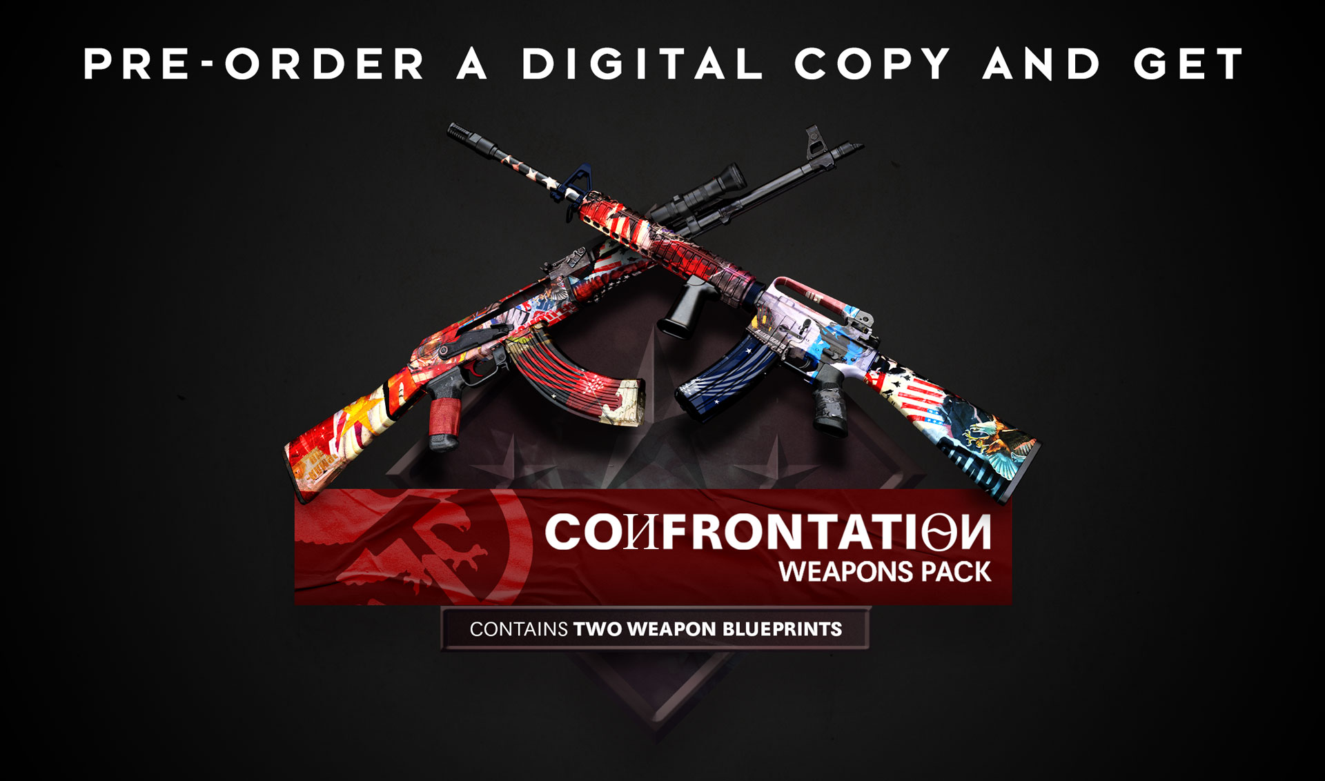 The Iron Curtain and the Western Front rifles, part of the Confrontation Weapons Pack
