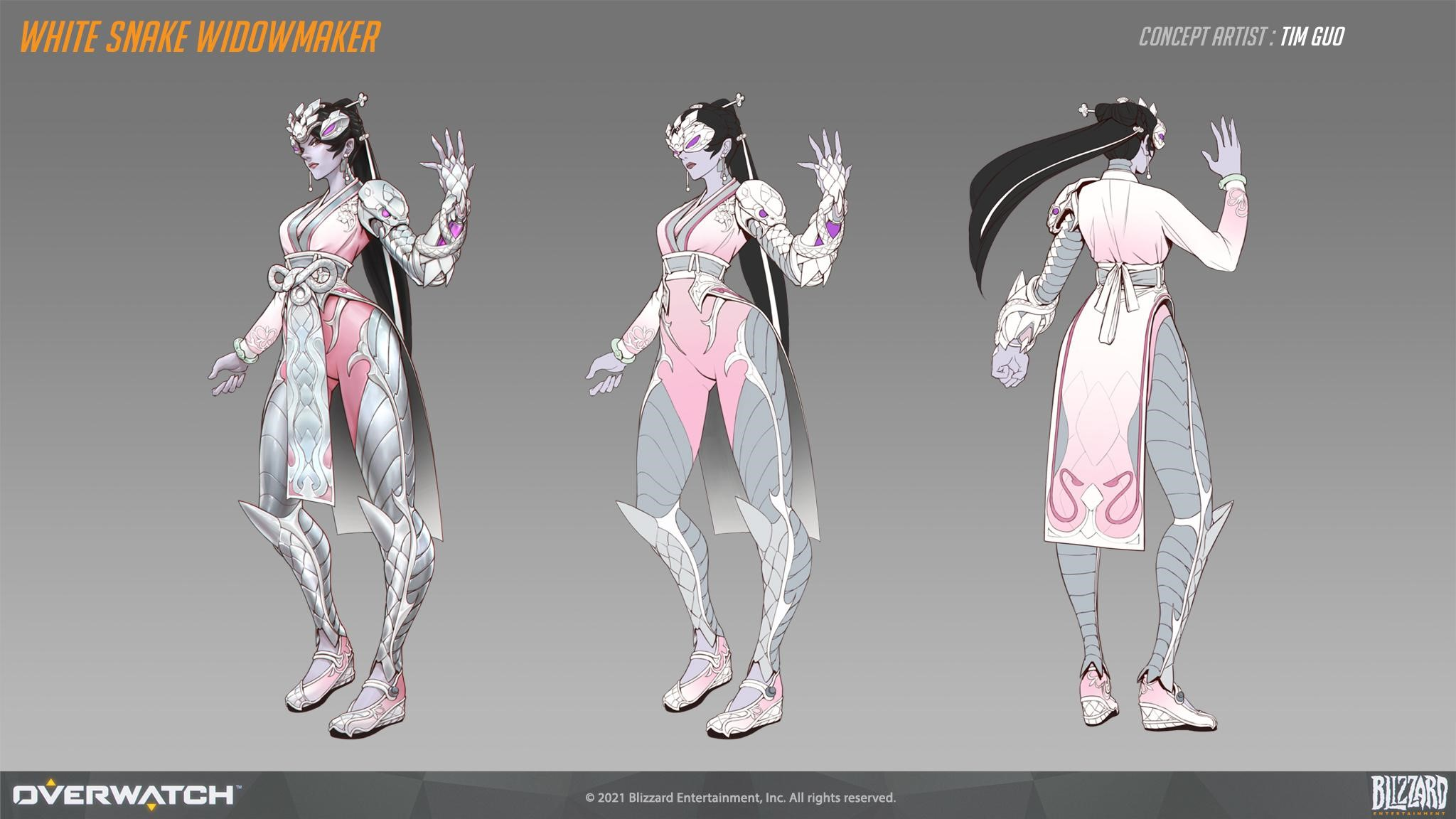 Pale Serpent Widowmaker Concept Art