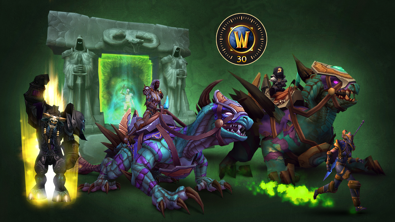 Image of Tauren Boosting, 30 Days, New Mounts, and Path of Illidan Toy
